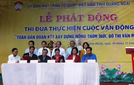 Quang Ngai: Phat dong CVD 'Toan dan doan ket xay dung nong thon moi, do thi van minh' - Anh 2