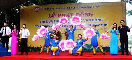 Quang Ngai: Phat dong CVD 'Toan dan doan ket xay dung nong thon moi, do thi van minh' - Anh 3