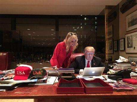 Nhung hinh anh it thay o Trump - Anh 1