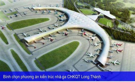 Moi binh chon phuong an kien truc nha ga CHKQT Long Thanh - Anh 1