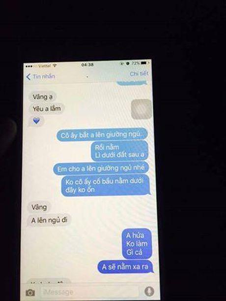 Chuyen ki quai thoi hien dai: Chong ve nha ngu voi vo co bau phai xin phep 'bo' - Anh 3