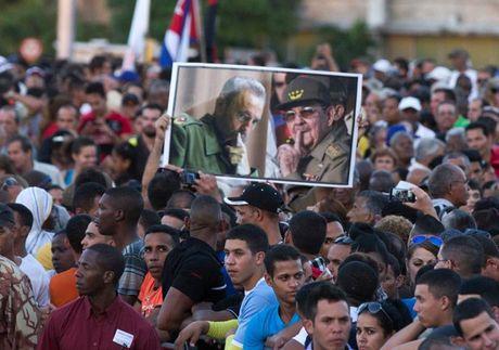 Cac nha lanh dao the gioi den tien biet lanh tu Cuba Fidel Castro - Anh 2