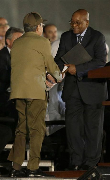 Cac nha lanh dao the gioi den tien biet lanh tu Cuba Fidel Castro - Anh 5