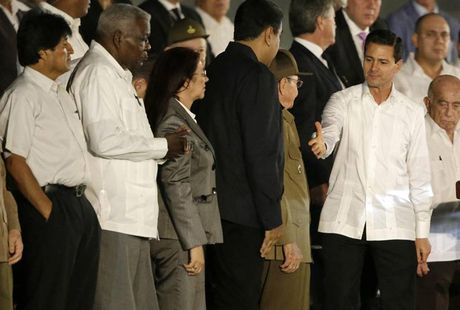 Cac nha lanh dao the gioi den tien biet lanh tu Cuba Fidel Castro - Anh 6