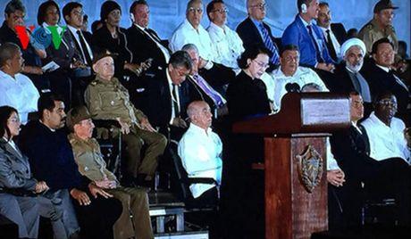 Cac nha lanh dao the gioi den tien biet lanh tu Cuba Fidel Castro - Anh 8