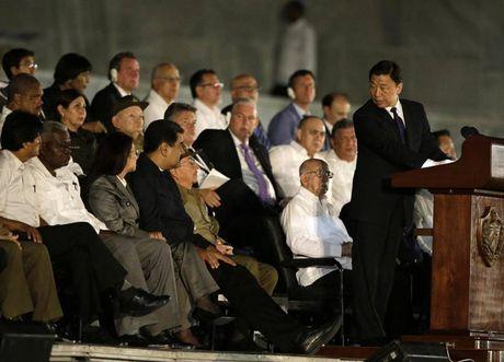Cac nha lanh dao the gioi den tien biet lanh tu Cuba Fidel Castro - Anh 9