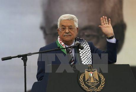 Tong thong Palestine canh bao rut lai su cong nhan doi voi Israel - Anh 1