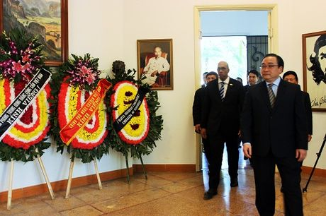 Nhan dan Viet Nam tuong nho lanh tu Cuba Fidel Castro - Anh 2