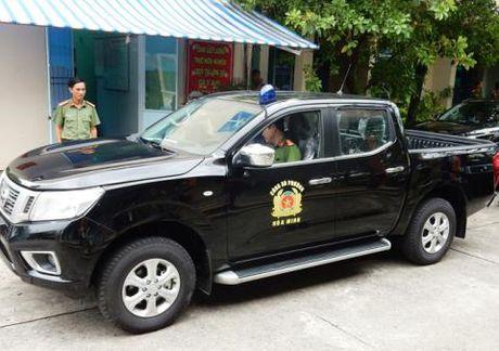 Da Nang chi tien ty mua xe may cho cong an phuong - Anh 1