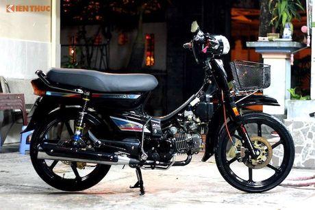 Honda Dream II Thai Lan do 'sieu an tuong' o Sai Gon - Anh 1