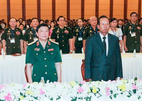 Viet Nam giup Campuchia dao tao gan 17.000 si quan - Anh 1