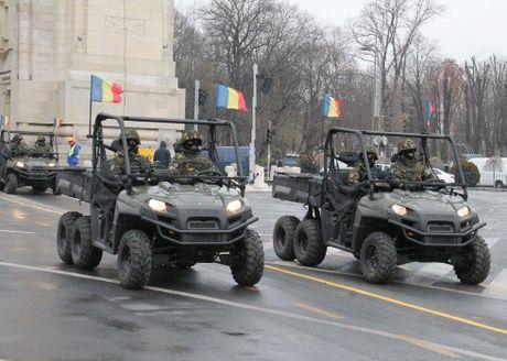 Chiem nguong dan tang, phao 'khung' Quan doi Romania duyet binh - Anh 11