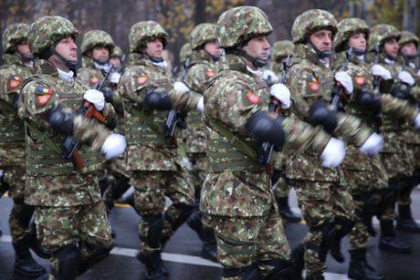 Chiem nguong dan tang, phao 'khung' Quan doi Romania duyet binh - Anh 14