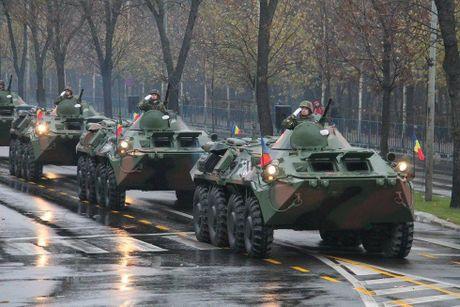 Chiem nguong dan tang, phao 'khung' Quan doi Romania duyet binh - Anh 5
