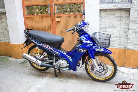 'Xe co' Yamaha Sirius do khung cua dan choi Sai Gon - Anh 1