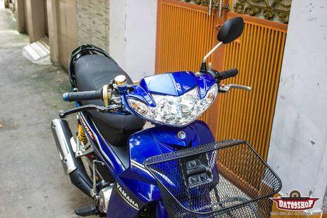 'Xe co' Yamaha Sirius do khung cua dan choi Sai Gon - Anh 2