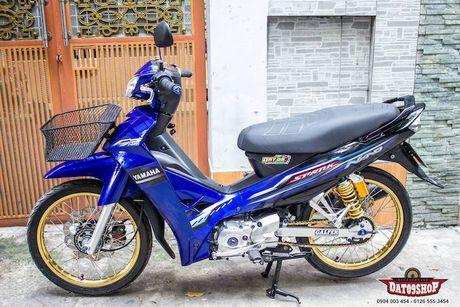 'Xe co' Yamaha Sirius do khung cua dan choi Sai Gon - Anh 7