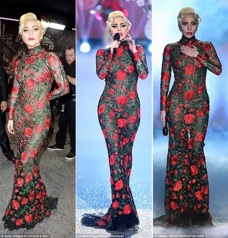 Lady Gaga quay tung trong show Victoria's Secret - Anh 5