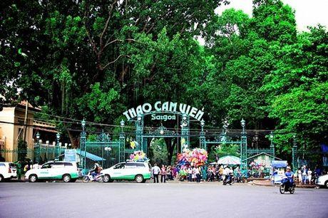 Xay bai xe ngam co suc chua hon 3.000 chiec o Thao Cam Vien Sai Gon - Anh 1