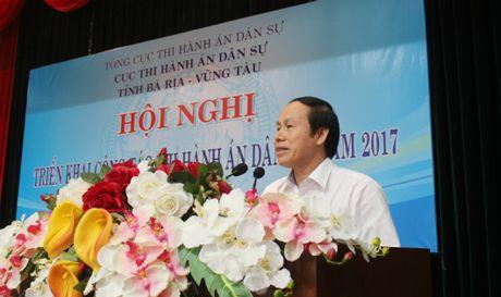 Cuc THADS Ba Ria – Vung Tau hoan thanh vuot ca 4 chi tieu 2016 - Anh 1