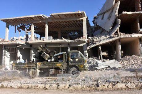 Nga va luc luong doi lap Syria ban ve ngung ban o Aleppo - Anh 1
