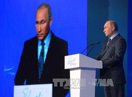 Doc Thong diep Lien bang, ong Putin nhan manh doan ket - Anh 1