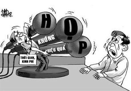 O truong, can bo quan ly khong du thoi gian de ...hop - Anh 1