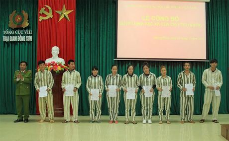 30 pham nhan Trai giam Dong Son duoc dac xa - Anh 1