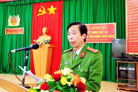 Cong an Lam Dong cong bo Quyet dinh dac xa cua Chu tich nuoc - Anh 1