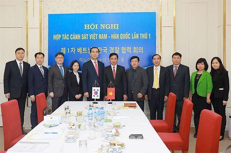 Tang cuong hop tac giua Bo Cong an Viet Nam va Co quan Canh sat quoc gia Han Quoc - Anh 2
