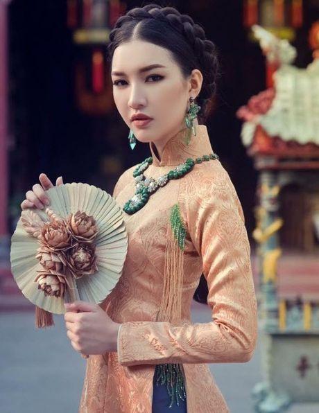 Bat ngo dung nhan hien tai cua co gai dep nhat Hoa hau Viet Nam 2016 - Anh 9
