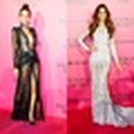 Anh 'cuc nong' cua dan thien than trong Victoria's Secret Fashion Show 2016 - Anh 24