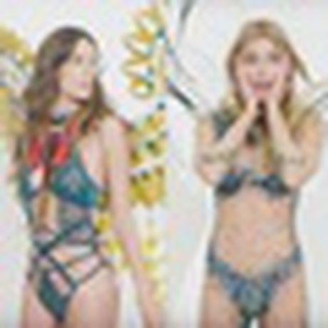 Anh 'cuc nong' cua dan thien than trong Victoria's Secret Fashion Show 2016 - Anh 25