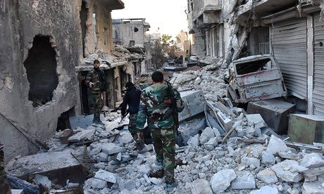 Nga ban bac voi phe doi lap Syria ve lenh ngung ban tai Aleppo - Anh 1