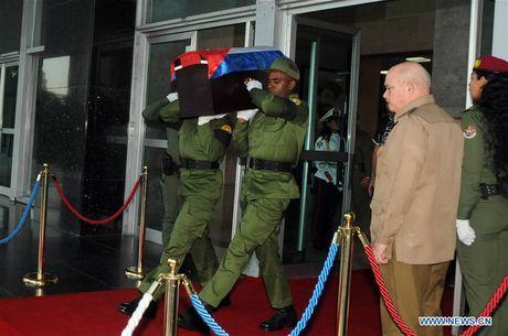 Chum anh: Thi hai lanh tu Fidel Castro bat dau hanh trinh ve dat me - Anh 1