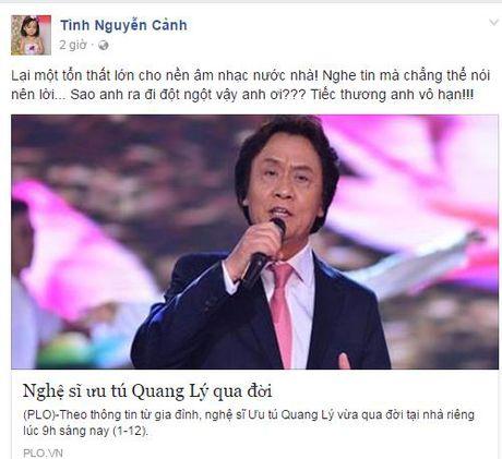 NSUT Quang Ly qua doi: Nghe si Viet nghen long tiec thuong - Anh 4