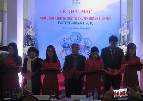 Tren 350 san pham cong nghe va thiet bi sinh hoc tham gia Biotechmart 2016 - Anh 1