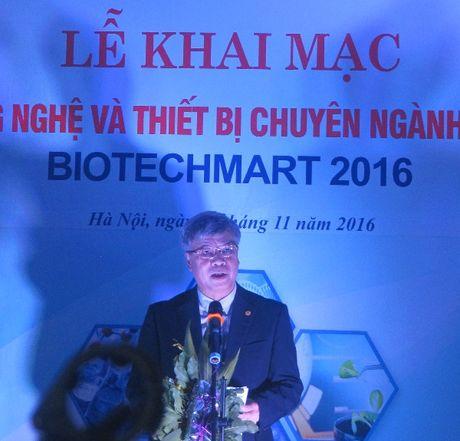 Tren 350 san pham cong nghe va thiet bi sinh hoc tham gia Biotechmart 2016 - Anh 2