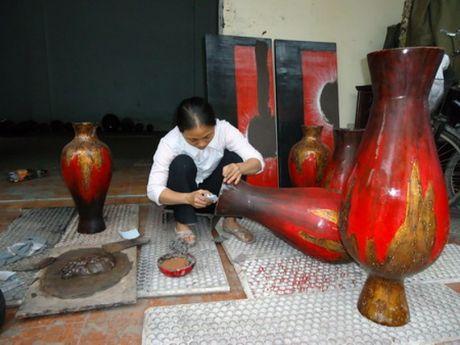 Ha Noi phoi hop xay dung Ho so da quoc gia Nghe thuat Son mai trinh UNESCO - Anh 1