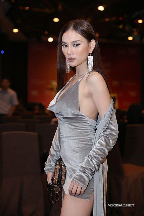 Huong Giang Idol ho 1/2 bau nguc, mac quan 1 ong du su kien - Anh 5