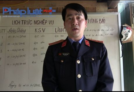 Vu xe bien xanh van chuyen go lau o Tuyen Quang: Vien truong Vien KSND noi khong biet! - Anh 1