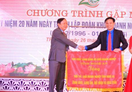 Chang duong 20 nam hoat dong cua Khoi Doanh nghiep tinh Nghe An - Anh 2