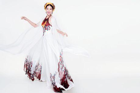 Dieu Ngoc mang vay yem di thi trang phuc truyen thong tai Miss World 2016 - Anh 2
