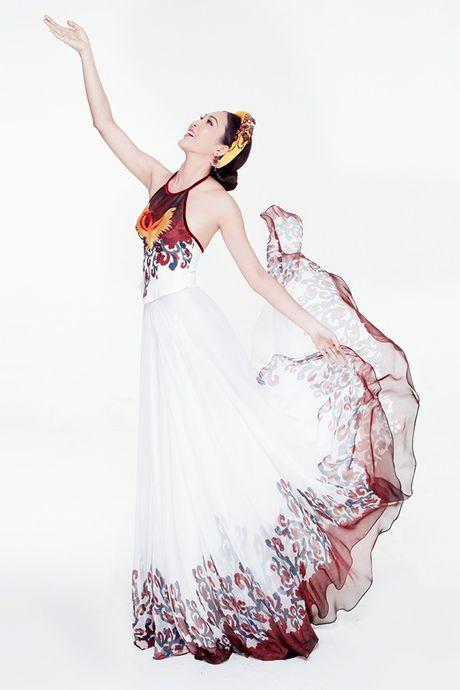 Dieu Ngoc mang vay yem di thi trang phuc truyen thong tai Miss World 2016 - Anh 4