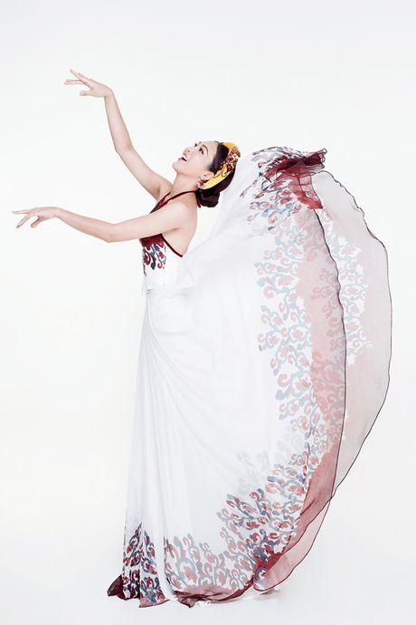 Dieu Ngoc mang vay yem di thi trang phuc truyen thong tai Miss World 2016 - Anh 5
