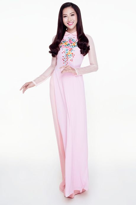Dieu Ngoc mang vay yem di thi trang phuc truyen thong tai Miss World 2016 - Anh 9