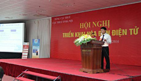 Gan 5.000 doanh nghiep Ha Noi tap huan su dung hoa don dien tu - Anh 2