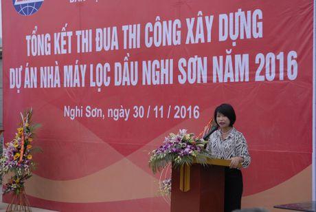 TCty Lilama: Tong ket phong trao thi dua tai Du an Loc dau Nghi Son - Anh 1
