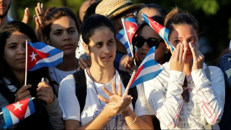 Le dua di hai lanh tu Fidel Castro ve Santiago de Cuba - Anh 8