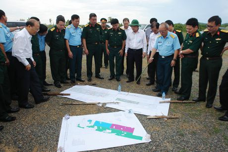 Kien nghi chi dao day nhanh tien do trien khai du an san bay Phan Thiet - Anh 1